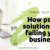 point solutions are failing your business